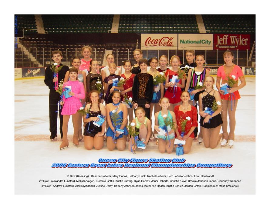 2006 Regional Competitors