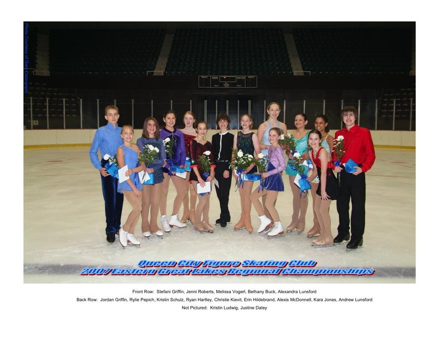 2007 Regional Competitors