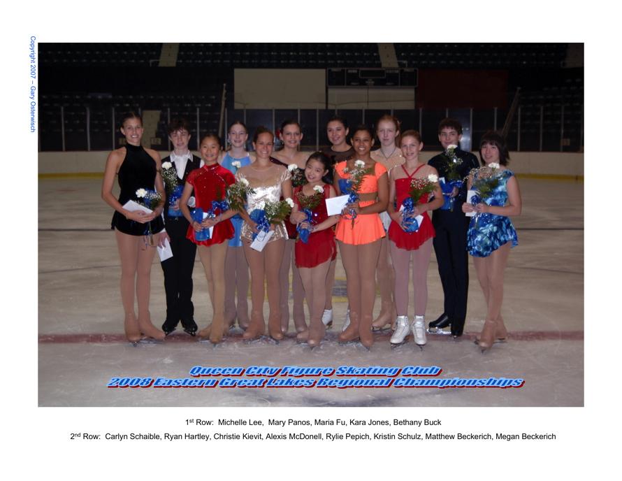 2008 Regional Competitors