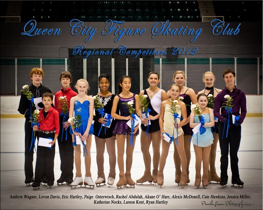 2012 Regional Competitors