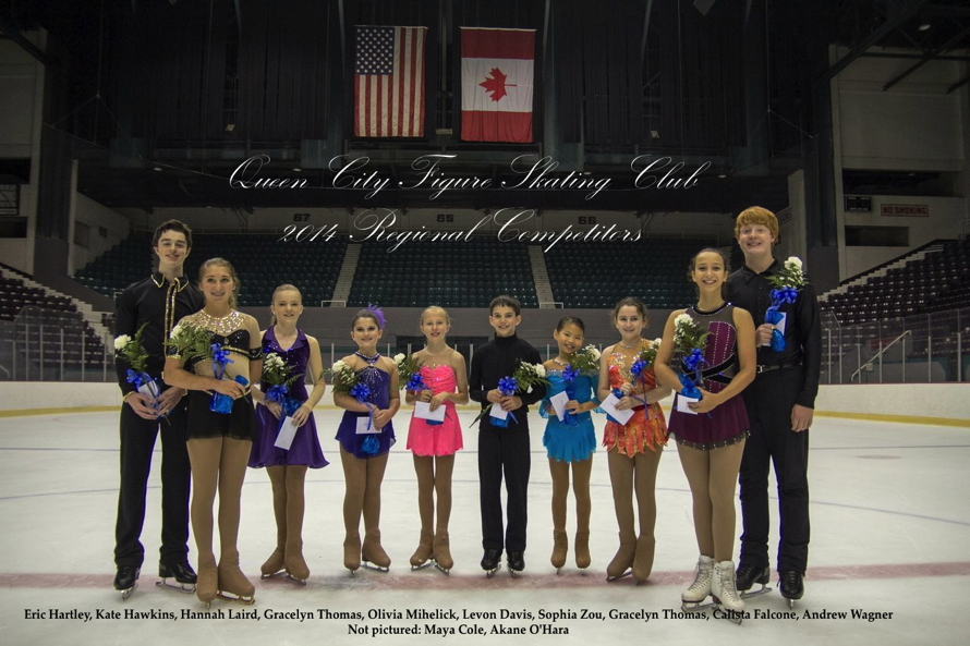 2014 Regional Competitors