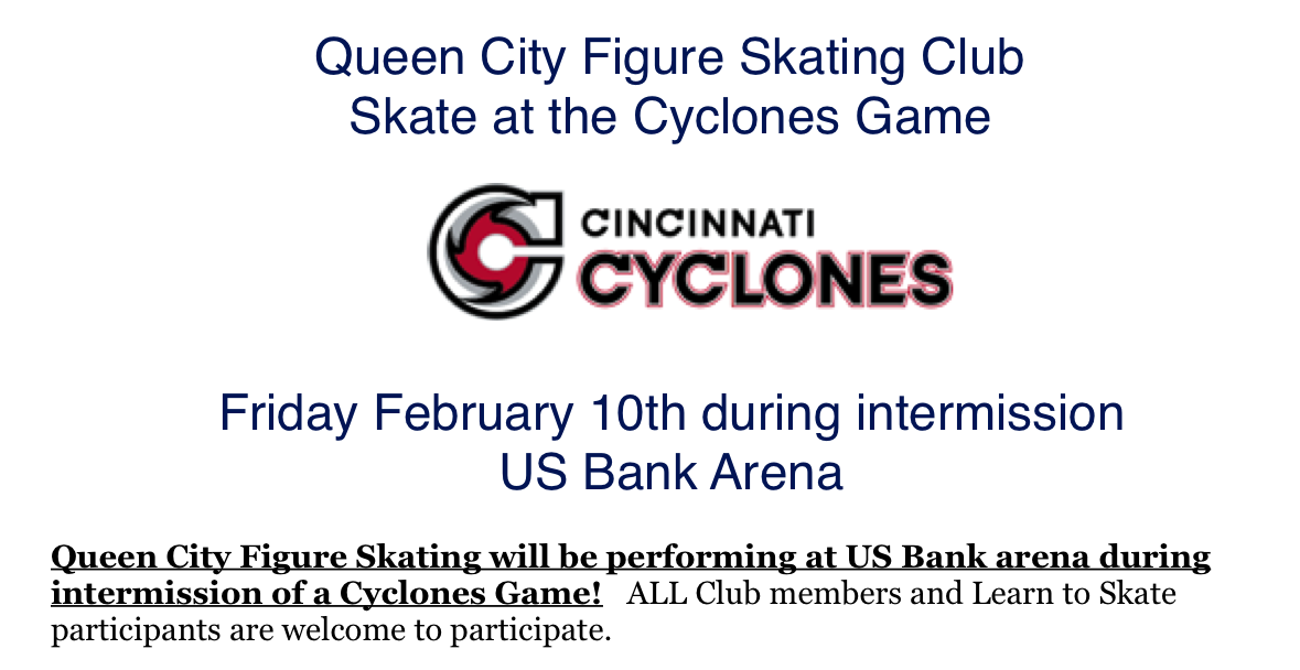 Skate with the Cyclones